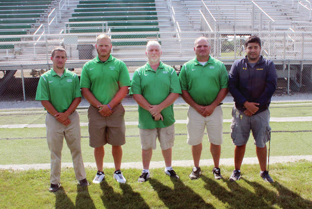 The 2017 Delta coaches and training staff.