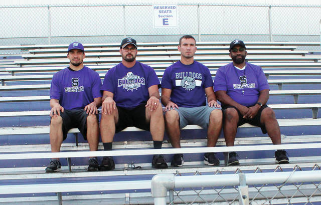 The 2017 Swanton coaching staff.