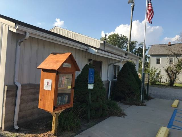 The Ai library is at the Fulton Township building on County Road 4.