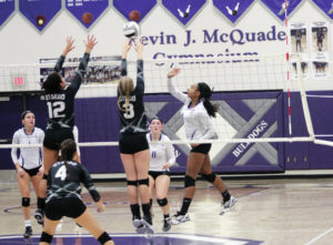Swanton volleyball tops Otsego for sectional crown