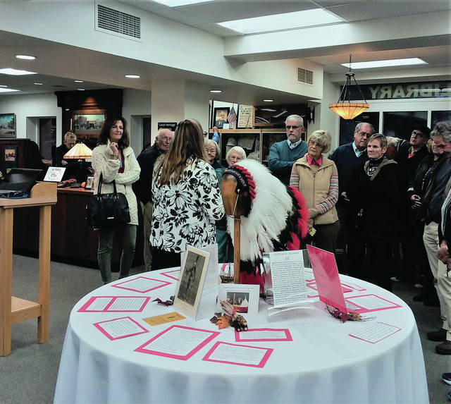 An open house was recently held at Evergreen Community Library to celebrate 90 years of service.