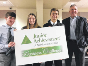 Swanton Accounting students compete at UT Business Challenge