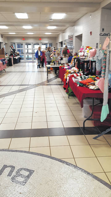 A craft show was held at Swanton High School on Saturday as part of the annual Christmas in Swanton celebration.