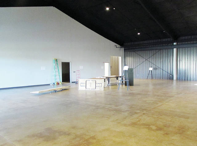 The new Fulton County Museum has 5,000 square feet of space to fill with exhibits.