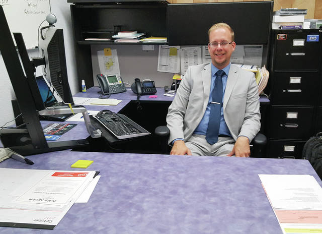 Chris Lake took over as superintendent of Swanton Local Schools.