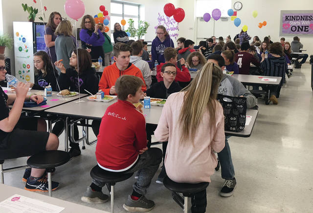 No One Eats Alone aims asks students to engage in a simple act of kindness at lunch.
