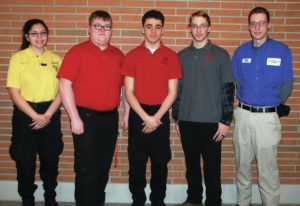Skills USA Students Competing at State