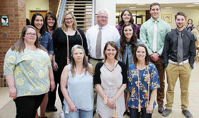 Twelve Fulton County NSCC students named below were pinned during a registered nurse associated degree ceremony.
