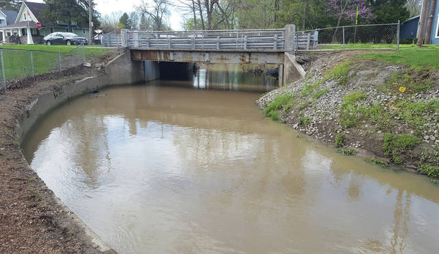 The Garfield Avenue bridge over Ai Creek in Swanton will be replaced this year.