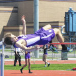 Swanton girls in front after day one of league track meet