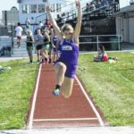 Dogs finish second at Wauseon tri-meet
