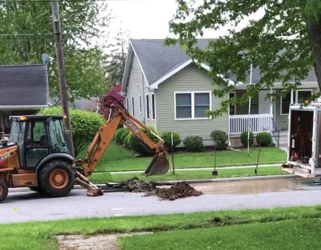 Emergency work has led to a boil advisory for W. St. Clair Street in Swanton.