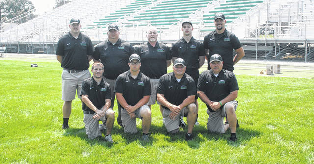 The 2018 Delta coaching staff.