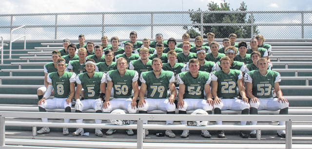 The 2018 Evergreen football team.
