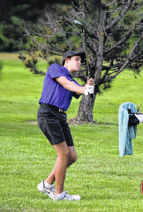 Swanton golf second at tri-matches